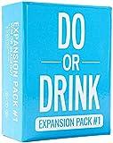 Do or Drink-Brettspiel, englische Party-Spielkarte, Camping-Party-Spielkarte, verrückte Trinkkarte, Blau