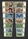 *** 5 - 1000 Deutsche Mark - 7 Banknoten Ausgabe 1970 - 1980 BBK I - Pick 30 - P36 - Reproduktion ***