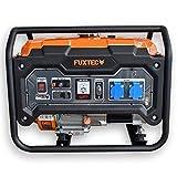 FUXTEC Stromerzeuger Benzin FX-SG1-3000 – 2500W Stromaggregat 2x 230V Anschlüsse – Stromgenerator Notstromaggregat