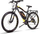 Elektrisches Mountainbike, Oppikle 27.5 '' Electric Mountain Bike mit abnehmbarem großem Kapazitäts-Lithium-Ionen-Akku (48V 400W), E-Bike 21 Speed Gear und DREI Arbeitsmodi,Fahrrad