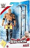 WWE WREKKIN - The Rock - Actionfigur komplett mit Wrackzubehör, ca. 15 cm