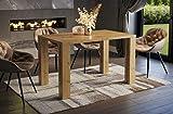 Endo-Moebel Esstisch Nisa 80cm erweiterbar 215cm Küchentisch Esszimmertisch ausziehbar (Artisan Eiche)
