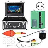 Kamera Angelmonitor Zugfester Kabelfischfinder 7-Zoll-empfindlicher Farbbildschirm für die Unterwasserexploration(European regulations)
