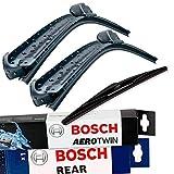 3x Scheibenwischer Vorne+Hinten Bosch AeroTwin B-Aero-A540S-H311-1