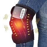 GYW-YW Elektroheizung Knieschützer Wiederaufladbare Kniegelenk Massage Heizung Vibration Kniegelenk Massage Gelenkschmerzen Relief