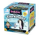 Brain Box 2094904 Tierkinder, Lernspiel, Quizspiel für Kinder ab 5 Jahren