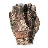 FGJH Professioneller Baum Bionic Camouflage Jagd Angelhandschuhe Anti-Rutsch Reithandschuhe Frühling Sommerhandschuhe Polyester Elastische Handschuhe 319