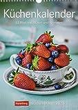 Küchenkalender Kalender 2021: Wochenplaner, 53 Blatt mit Zitaten und Rezep
