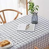 LIUJIU Generisch Tischdecke Tischfolie Tischschutzfolie ,90x135cm