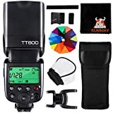 GODOX TT600 Kamera Blitz Speedlite 24G HSS 1/8000S GN60 Flash Speedlite Kompatibel mit Canon Nikon Fujifilm Pentax Olympus Panasonic Kameras (TT600)