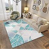 MMHJS Home Nordic Style Wohnzimmer Teppich Einfach Und Atmosphärisch Rechteckig Großer Teppich Weich Und Hautfreundlich 50x160