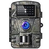 Victure Wildkamera mit Bewegungsmelder Nachtsicht Fotofalle 16MP 1080P Full HD Video mit IP66 Wasserdicht Infrarot Beutekameras für die Überwachung von Wildtieren und Sicherheit zu H