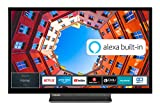 Toshiba 32LK3C63DA 32 Zoll Fernseher (Full HD, Smart TV, Prime Video / Netflix, Alexa Built-In, Bluetooth, WLAN, Triple Tuner), schw