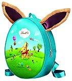 Lindt GOLDHASE Rucksack, mit 50 g Goldhase Vollmilch und 145 g Eier-Mischung, Oster-Geschenk für Kinder, 1 er Pack (1 x 195 g)