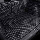 Kofferraumwanne Laderaumwanne Lederschutzunterlage für Volvo XC60 2018 2019 2020 2021, Kofferraummatten Laderaumschale Schutzmatte Auto Kofferraumschutz Matte Zubehör