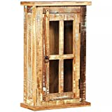 Badmöbel,Badezimmerschränke, Schließfächer,Wandschrank Recyceltes Massivholz 44 x 21 x 72 cm