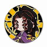 cluis Dämonentöter: Kimetsu no Yaiba Brosche, Kawaii Anime Brosche Pins Cartoon Runde Weißblech Abzeichen Tasche Zubehör für Anime Fans(Style 05)