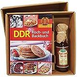 DDR Ostalgie Buch - DDR Kochen & Backen mit Worcestersauce – Geschenke Set Fans für Ostprodukte Ost Produkte und Ostalgiker