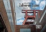 Zeche und Kokerei Zollverein Essen: Industrie-Architektur (Wandkalender 2021 DIN A2 quer)
