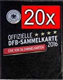 WIZUALS 20x DFB Sammelkarte EM 2016 REWE Neu & OVP incl Sticker