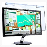 Bueuwe Computerblaulicht blockierender Bildschirmschutzfolie Anti-UV-Augenschutzfilterfilm für 17-27-Zoll-PC-LED-Monitor, Hilf dir, Besser zu schlafen,18.5' 425 * 250mm