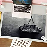 Office-Gaming-MauspadGants de Boxe suspendus à un clou, Office-Mauspad mit Lederoptik, Rutschfester Unterseite