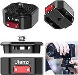 Schnellwechsel-Kamera-Halterung mit Swiss Arca Platte, Stabilisator-Adapter für DSLR-Kameras von Sony, Nikon, Canon und Zhiyun, DJI, Moza Gimba, Slider, Stativplatte