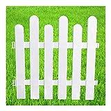 YUSHRO Zaun Garten Balkon Park Pflanze Geländerplatten Retro Dekorativ Hof Korrosionsbeständig Plastik Zaun Erweitern (Farbe : D)