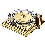 EL CASCO M760L Zigarren-Aschenbecher – Gold