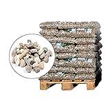 HaGaFe Buntkies 20-40 mm Körnung Zierkies Gartenkies Teichkies Waschkies Rheinkies Gartenkies Dekokies 600 kg (40 x 15 kg)