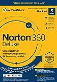 Norton 360 Deluxe 2021   5 Geräte   1-Jahres-Abonnement mit Automatischer Verlängerung   Secure VPN und Passwort-Manager   PC/Mac/Android/iOS   Aktivierungscode in Originalverpackung