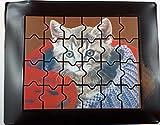 05#011322 Schokolade, Puzzle, 24 TEILE, Katzen, Ostern, Geburtstag, Geschenk, Schule, Kommunion, Konfirmation, Jugendweihe,, Tortenverzierung,
