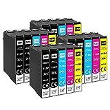 Tinne 20Pack T1295 Druckerpatronen, Ersatz für Epson T1291 T1292 T1293 T1294, Tintenpatrone Kompatibel with Epson Stylus SX435W SX235W SX420W SX230 SX425W SX440W SX445W, Epson Stylus Office BX535wd