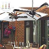 zyr Klappheizung Außenheizung 3 Arten von Wärmeregulierungs-Dumping-Stromausfallschutzstecker und -wärme Geeignet für Sonnenschirmheizung