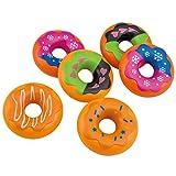 GXK 6 Donuts Zubehör Kaufladen Kinderküche Spiellebensmittel Spielküche Spielgebäck