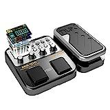 E-Gitarren Multieffekte Asmuse NUX MG 100 Professionel Multi Effekt Pedal Prozessor Looper EFX Amp EQ Mixer Instrument Bass Westerngitarre(EU Plug)
