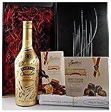 Geschenk Baileys Chocolat Luxe Likör + Irish Cream Chocolate Truffles + Irish Cream Schokolade