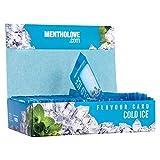 MDlabels MENTHOLOVE 50 Cold Ice Aromakarten für Zigaretten oder Tabak