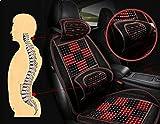 QSWL Rückenkissen Auto & Bürostuhl - Lendenkissen - Lordosenstütze - Rückenstütze Stuhl - Autositzkissen – Lordosekissen -Auto Kopfstütze Lendenwirbelstütze