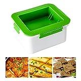 ARTOCT Tofu-Pressen Küche Tofu-Abtropffläche Kunststoff-Tofu-Abflussbox Küchenwerkzeuge Entfernen Sie überschüssiges Wasser und verbessern Sie die Tofu-Gerichte