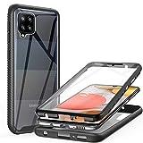 ivencase Hülle Kompatibel mit Samsung Galaxy A42 5G, 360° Rundumschutz Robust Bumper Case Handyhülle Mit Eingebautem Displayschutz, Stoßfest Kratzfeste Schutzhülle Cover Kompatibel mit Samsung A42 5G