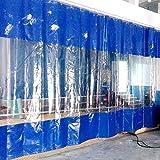 Abdeckplane/Gewebeplane Blau Klar PVC-Nähte Plane Für Zelt-Seitenwand, Pergola-Baldachin, Pavillon- Und Carport-Wand, Hochleistungs-wasserdicht Mit Tüllen (Size : 4.5x6m/14.7x19.6ft)