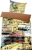 KUBA Havanna - Bettwäsche im Digitaldruck 135x200cm Mako-S