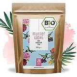 Mutterwohl Bio Frauenmanteltee 100g Tee I Bio Kräuter Storchentee Mischung nach alter traditioneller Rezeptur aus kontrolliert biologischem Anbau - 100% natürlich ohne Zusatz von Zucker