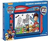 Clementoni 15112 Zaubertafel Paw Patrol, magnetische Maltafel zum Zeichnen & Malen, mit 3 wiederverwendbaren Schablonen, Kreativspielzeug für Kinder ab 4 Jahren, als Geschenk zu Ostern