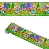 alles-meine.de GmbH 5 m Bordüre / Wandtattoo - selbstklebend -  Bob der Baumeister  - Wandsticker Aufkleber Kinderzimmer - Baustelle - für Jungen Borte Wandbordüre Tapetenbordü