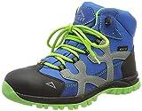 McKINLEY Unisex-Kinder Santiago Pro Aquamax Trekking-& Wanderstiefel, Grün (Green Lime/Blue Dark 906), 35 EU