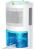 LONOVE Luftentfeuchter Elektrisch - 2000ML Tragbarer Entfeuchter Raumentfeuchter Lufttrockner Mit Ablaufschlauch, Dehumidifier für Schlafzimmer Badezimme Garage, Luftentfeuchter Bereich bis zu 100㎡