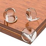 Lesfit 20 Stücke Baby Eckenschutz Transparent für Tisch und Möbel Ecken