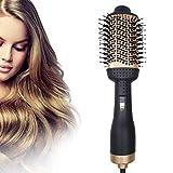 Lipeed Heißluftbürste, für Frauen Haarstyling, Upgrade 5 in 1 Heißluftstyler und Volumizer, multifunktionaler Haarglätter- und Lockenwicklerkamm, Negativionen-Föhnbürste für alle Haartypen
